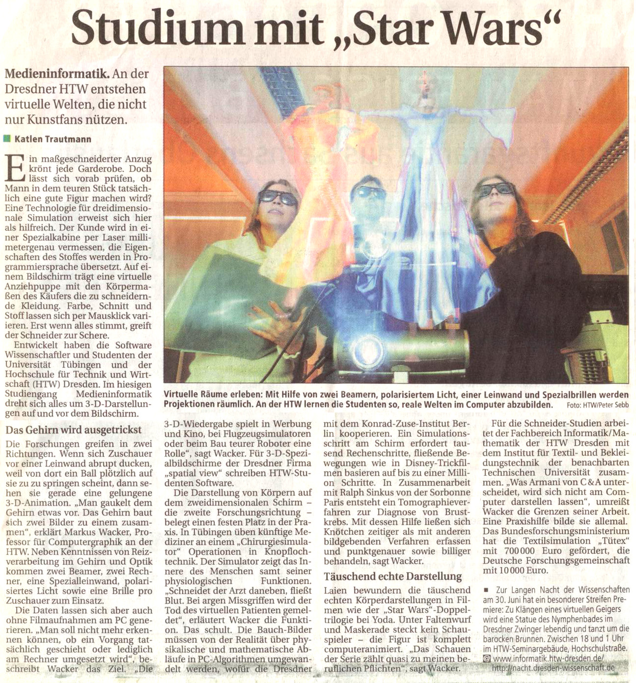 "Studium mit ""Star Wars"""
